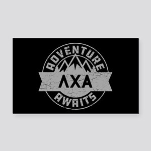 Lambda Chi Alpha Adventure Aw Rectangle Car Magnet