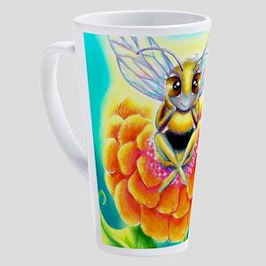 Sittin9 Bee 17 oz Latte Mug