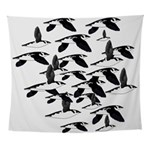 Little Auk Flock Wall Tapestry