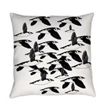 Little Auk Flock Everyday Pillow