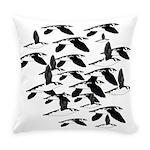 Little Auk Flock Everyday Pillow