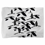 Little Auk Flock Pillow Sham