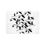 Little Auk Flock 4' x 6' Rug