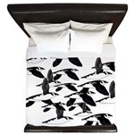 Little Auk Flock King Duvet