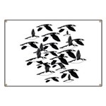 Little Auk Flock Banner