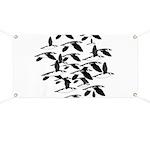 Little Auk Flock Banner