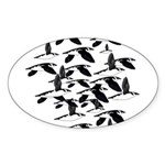 Little Auk Flock Sticker