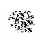 Little Auk Flock Wall Decal