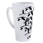 Little Auk Flock 17 oz Latte Mug