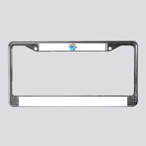 Peace on Earth Animals License Plate Frame