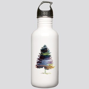 Fir Tree Stainless Water Bottle 1.0L