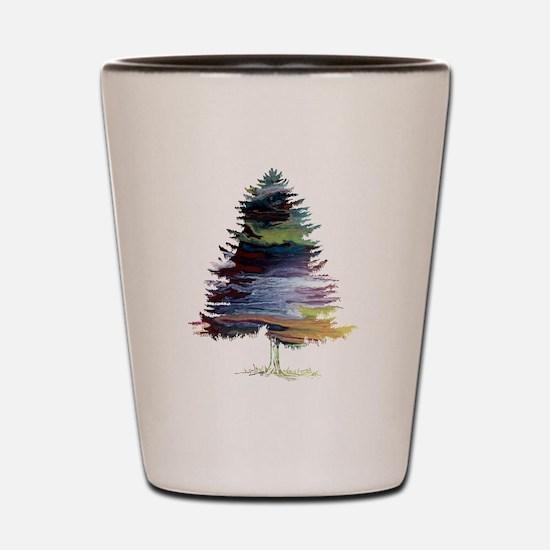 Fir Tree Shot Glass