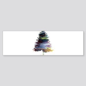 Fir Tree Bumper Sticker