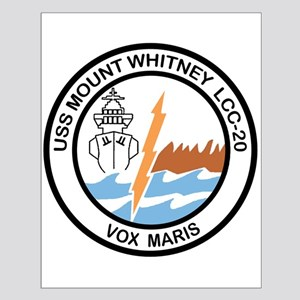 USS Mount Whitney LCC 20 Small Poster