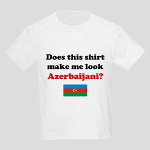Make Me Look Azerbaijani Kids Light T-Shirt