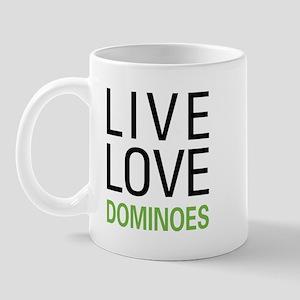 Live Love Dominoes Mug