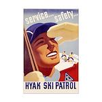 Vintage 'style' Hyak Ski Patrol Poster