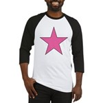 PINK STAR Baseball Jersey