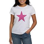 PINK STAR Women's T-Shirt
