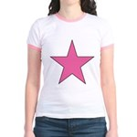PINK STAR Jr. Ringer T-Shirt