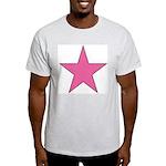 PINK STAR Light T-Shirt