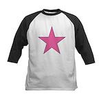 PINK STAR Kids Baseball Jersey