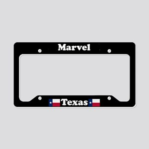 Marvel TX - LPF License Plate Holder