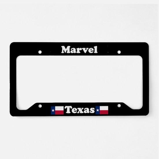 Marvel TX - LPF License Plate Holder