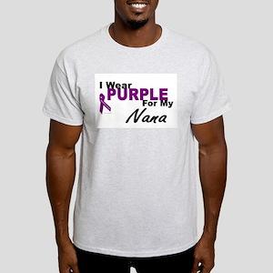 I Wear Purple For My Nana 3 (PC) Light T-Shirt