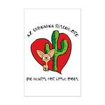 Arizona Chihuahua Rescue Mini Poster Print