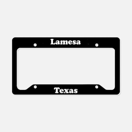 Lamesa TX - LPF License Plate Holder