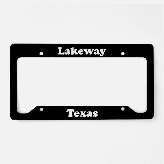 Lakeway TX - LPF License Plate Holder