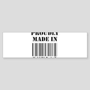 Made in Kuwait Bumper Sticker