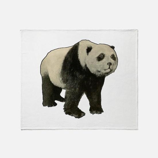 Unique Panda wall Throw Blanket
