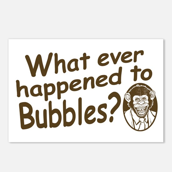 Where's Bubbles? Postcards (Package of 8)