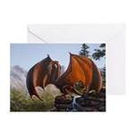 Summer Dragon Greeting Card