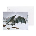 Winter Dragon: Greeting Cards (Pk of 20)