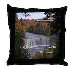 Upper Tahquamenon Falls Throw Pillow