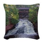 Amnicon Falls Woven Throw Pillow