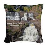 Goosberry Falls Woven Throw Pillow