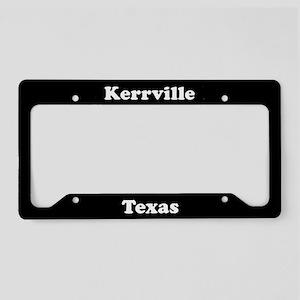 Kerrville TX - LPF License Plate Holder