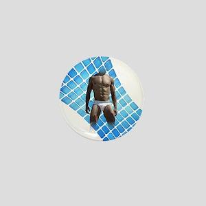 Male Underwear squares Mini Button