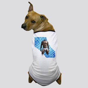 Male Underwear squares Dog T-Shirt