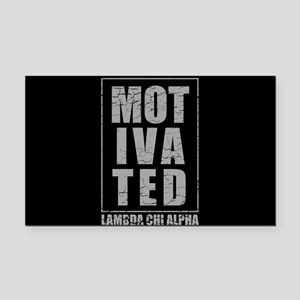 Lambda Chi Alpha Motivated Rectangle Car Magnet