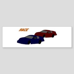 Race Bumper Sticker