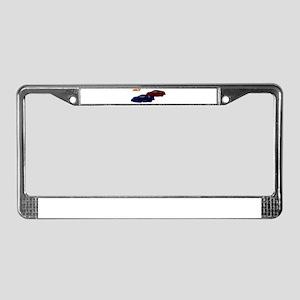 Race License Plate Frame