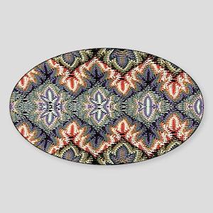 bohemian floral tribal pattern Sticker