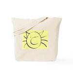 CatastropheCat yellow Tote Bag