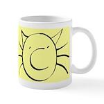 CatastropheCat yellow Mugs