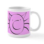CatastropheCat pink Mugs